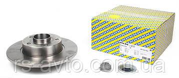 Диск тормозной Renault Trafic + Vivaro 01-> задний, + подшипник,  KF155.70U, фото 2