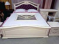 Спальный гарнитур из массива дерева в классическом стиле Неаполь ROKA, цвет на выбор