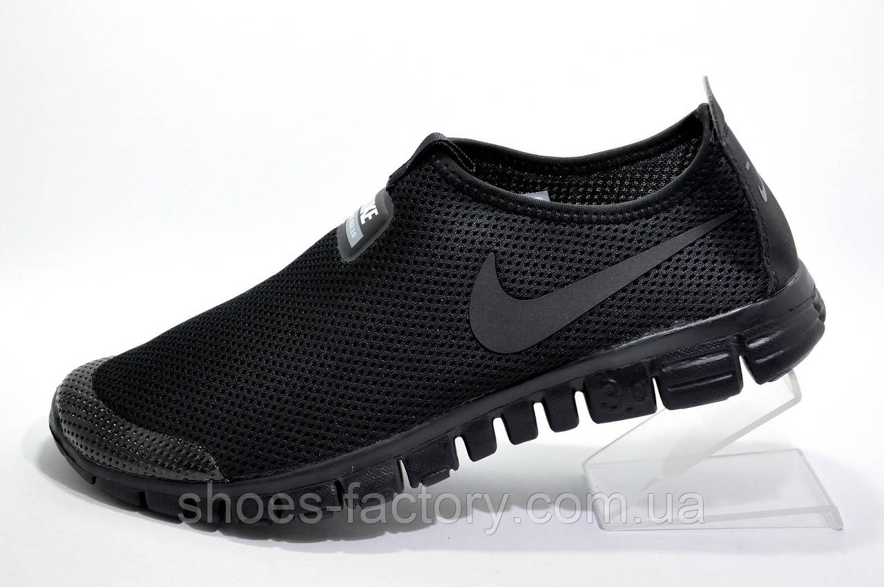 Летние кроссовки в стиле Nike Free Run 3.0 V2 Socks, Black