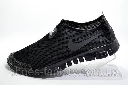 Летние кроссовки в стиле Nike Free Run 3.0 V2 Socks, Black, фото 2
