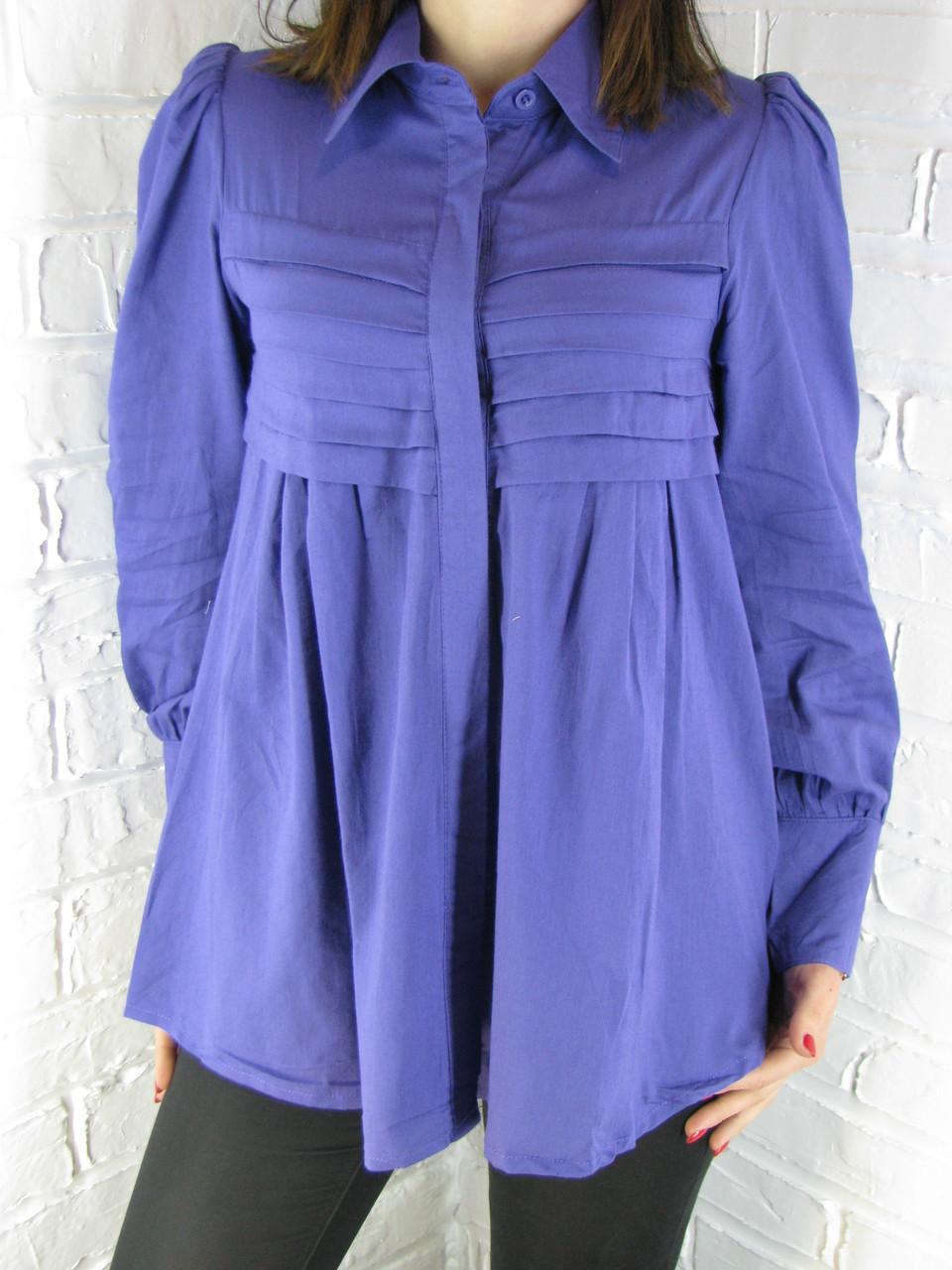 Сорочка жіноча D 8015 фіолетова