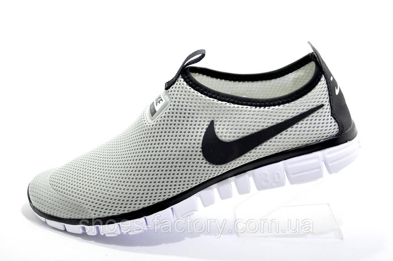Летние кроссовки в стиле Nike Free Run 3.0 V2 Socks, Gray