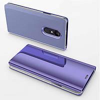 Чехол Mirror для Xiaomi Redmi Note 4 / Note 4 Pro (Mediatek) книжка Purple