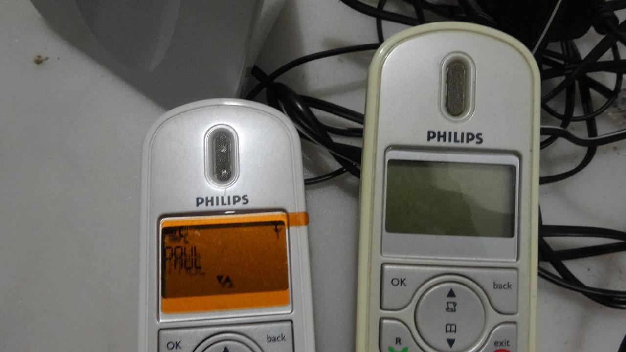 Радиотелефон Philips CD 250 DUO Silver на две трубки