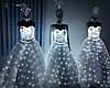 Led одежда Noblest Art вечернее платье, свадебное (LY31117)