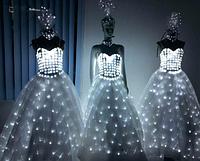 Led одежда Noblest Art вечернее платье, свадебное (LY31117), фото 1