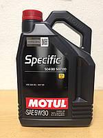 Масло MOTUL SPECIFIC 504.00-507.00 5W-30 5л (101476/106375), фото 1