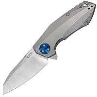 Нож складной Zero Tolerance 0456 (длина: 196мм, лезвие: 83мм), титан