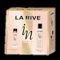 Женский подарочный набор La Rive In (парф. вода, дезодорант) (BT15711)