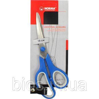 Ножиці 16.5см універс. прогум. ручки Norma 4220
