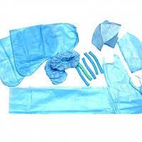 Комплект акушерский стерильный №10 (8 предметов) Славна 1130102
