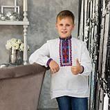 Детская вышиванка на домотканом полотне , фото 2