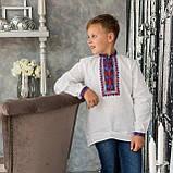 Детская вышиванка на домотканом полотне , фото 4