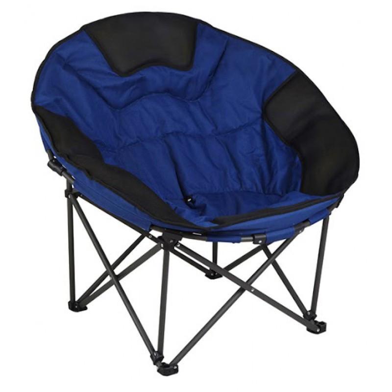 Кресло круглое складное Time Eco ТЕ-25, поддержка спины, макс нагрузка 150кг, полиэстер