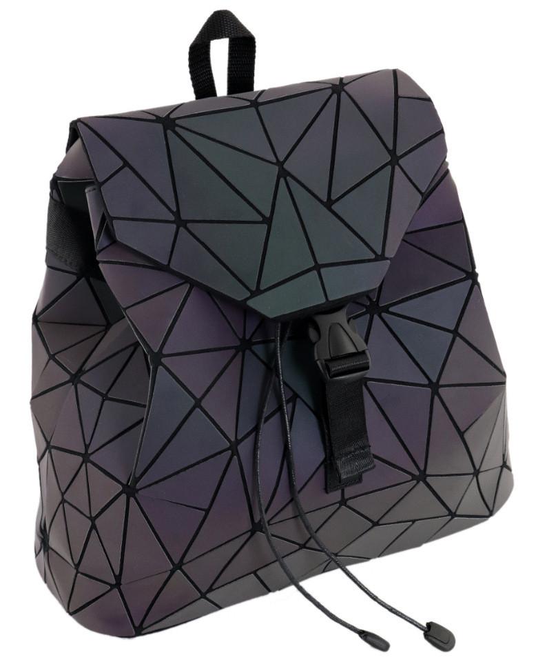 Жіночий рюкзак TRAUM 7235-08 кожзам 13 л фіолетовий