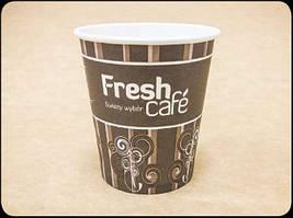 Одноразовые бумажные стаканчики для кофе с рисунком 100/150/180 мл