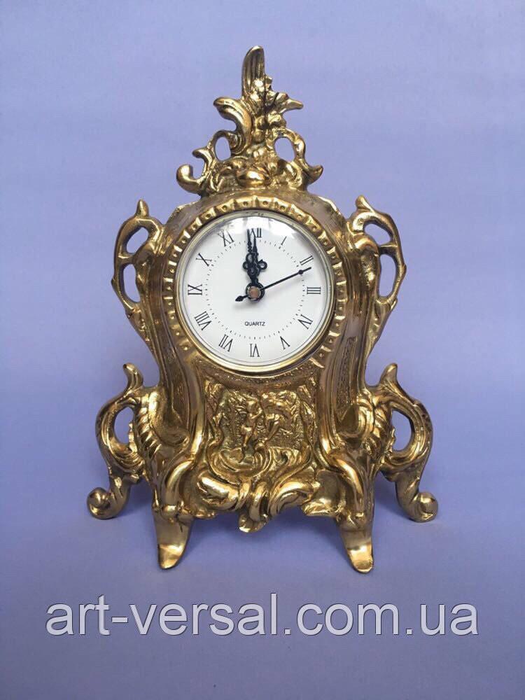 "Часы из бронзы ""Нептун"" малые"