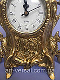 "Часы из бронзы ""Нептун"" малые, фото 4"