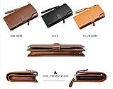 Стильный кошелек мужской классический baellerry, фото 3