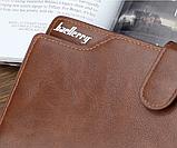 Стильный кошелек мужской классический baellerry, фото 5