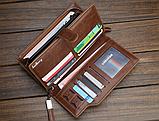 Стильный кошелек мужской классический baellerry, фото 7