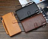 Стильный кошелек мужской классический baellerry, фото 8