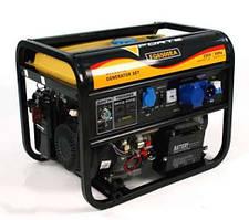 Бензиновый генератор с автозапуском FORTE FG6500EА, бак 25л, уровень шума 74дБ, воздушное охлаждение, Китай