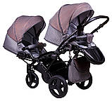 Коляска 2 в 1 для двойни Tako Jumper Duo R-4 07, фото 3