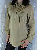 Сорочка жіноча D 8009 гірчиця