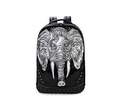 Черный рюкзак Слон