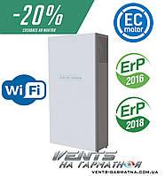 Вентс МИКРА 200 Э ЕРВ WiFi. Приточно-вытяжная установка с рекуператором, преднагревателем и WiFi