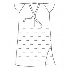 Сорочка жіноча процедурна стерильна (1120201)