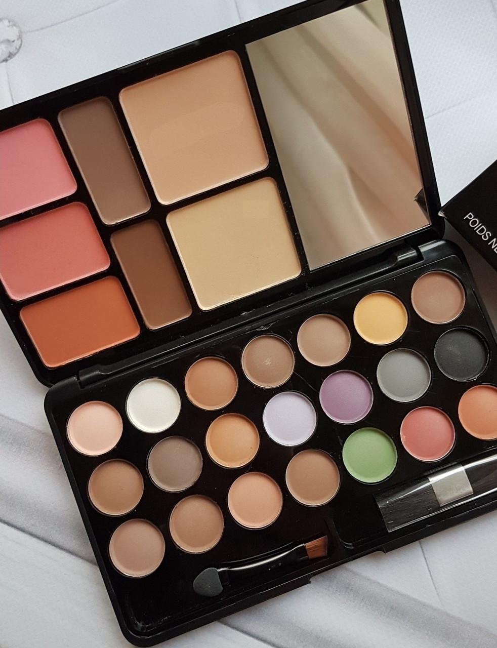 Косметический Набор (Корректор Бровей, Тени, Румяна, Пудра) Travel Pack Cosmetics