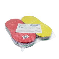 Тапочки одноразовые Doily ColorFul Orto для процедур (10пар, 42-44 размера, разноцветные)