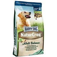 Корм Happy Dog Хэппи дог NaturCroq Adult Balance  разнообразная смесь гранул 15кг