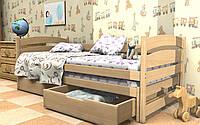 Кровать детская с выдвижным спальным местом Бонни