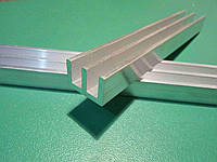 Радиаторный профиль алюминиевый 15 х 10 мм, длина 100 мм , фото 1