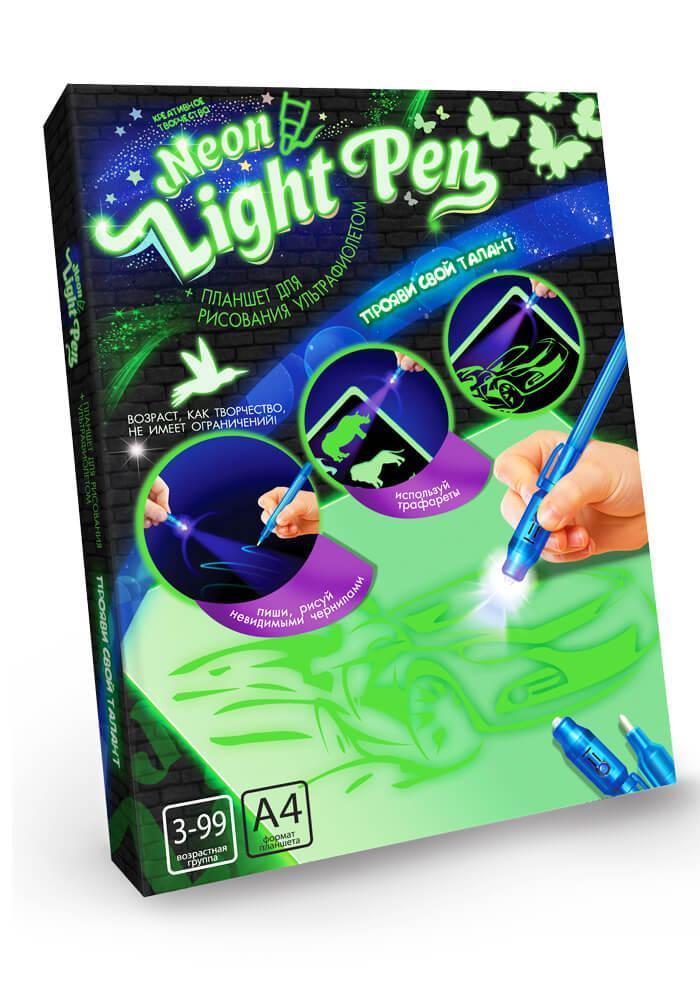 """Рисование светом """"Neon Light Pen"""" А4 (Ультрафиолетом)"""