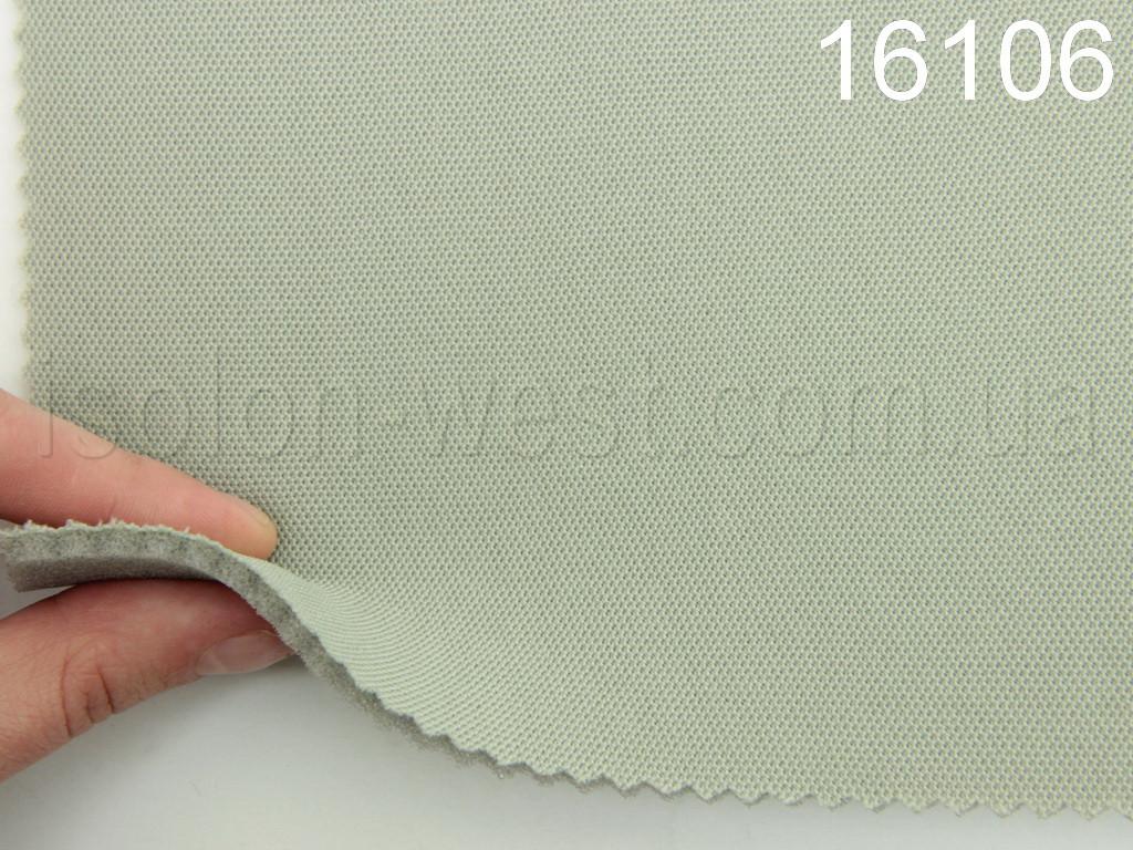 Високоякісна стельова тканина (Туреччина, сірий - 16106), на поролоні
