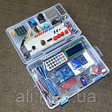 Обучающий набор  Arduino RFID UNO R3 Starter Kit  продвинутый с кейсом Ардуино робототехника