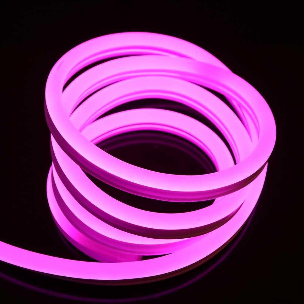 Гибкий светодиодный Неон уличный LTL FLEX 8Х16мм 120 LED 2835SMD IP67 220V розовый