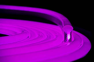 Гибкий светодиодный Неон уличный LTL FLEX 8Х16мм 120 LED 2835SMD IP67 220V розовый, фото 2