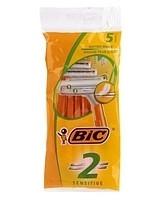Станок одноразовый BIC Sensitive №5 (2 лезвия)