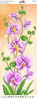 """Пано """"Цветущая орхидея"""". ПМ 4057. Частичная вышивка"""