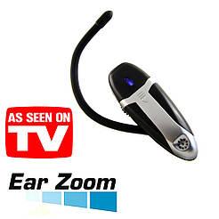 Слуховой аппарат Ear Zoom, в виде Bluetooth гарнитуры, черный