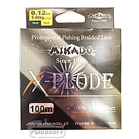 Мононить Mikado X-Plode 100м