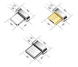 3 в 1 Магнитный кабель 3A микро USB зарядка и передача данных, фото 8