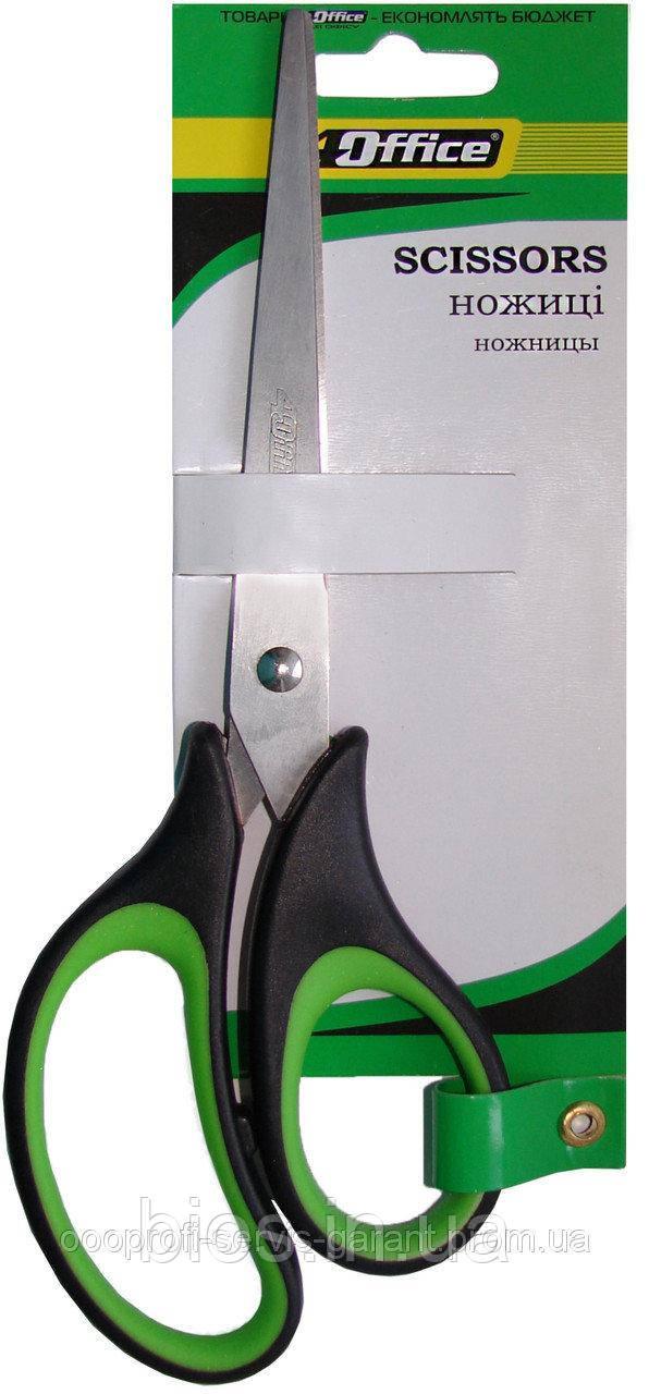 Ножиці  20,3 см унів., ергоном., прогум.ручки Office 4-368