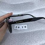 Модные черные очки в черной оправе, фото 4