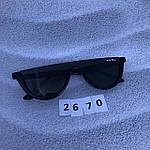 Модные черные очки в черной оправе, фото 6